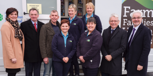 Farm Families Team with 20,000th service user