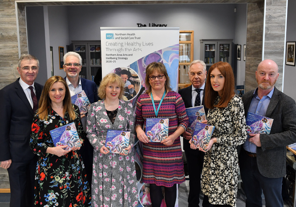 Launch of the Trusts Arts and Wellbeing Strategy