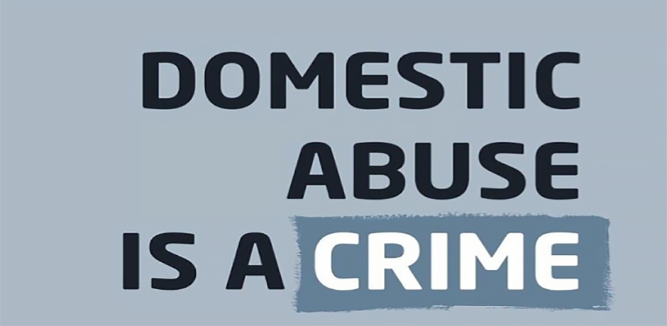 Domestic abuse is a crime