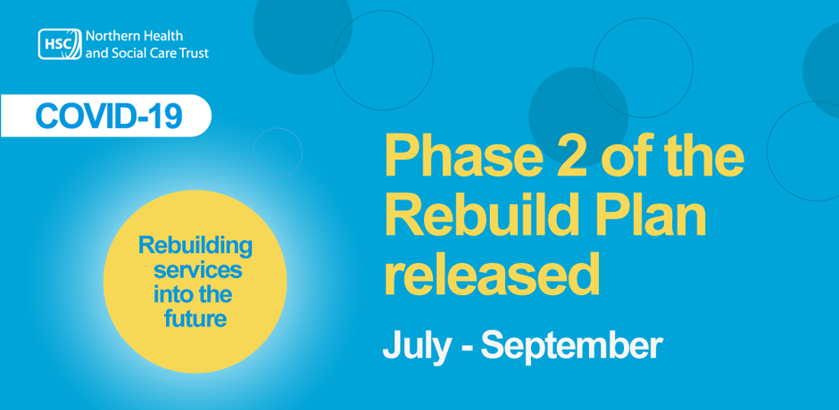 Phase 2 of Rebuild Plan releases July-September