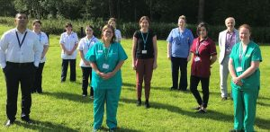 Staff from Stroke Services Antrim Area Hospital