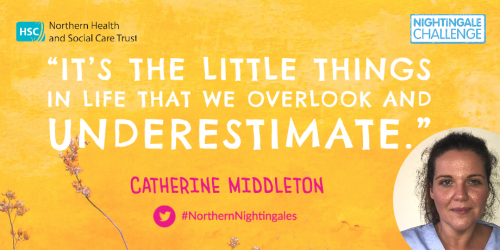 """""""It is the little things in life that we overlook and underestimate."""" - Catherine Middleton"""
