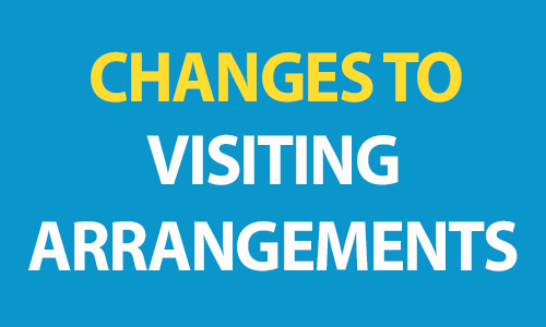 New visiting arrangements across all care settings