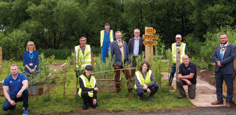 New sensory garden and trail opens at Ecos Nature Park